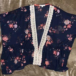 Jolt Floral Kimono